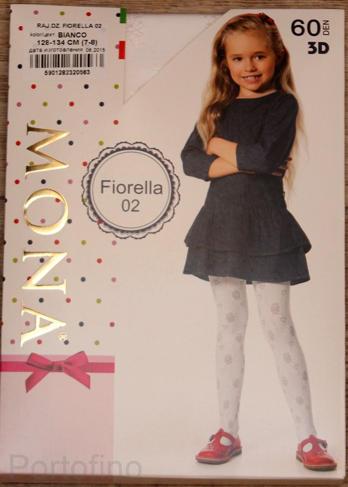 Fiorella 02 детские колготки Mona 60 DEN