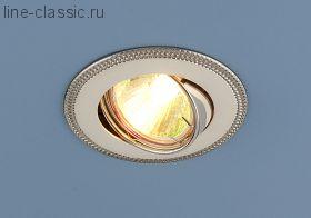 Точ/светильник ES 870A PS/N (перламутр. серебро / никель)