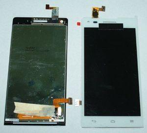 LCD (Дисплей) Huawei Ascend G6 (в сборе с тачскрином) (white) Оригинал