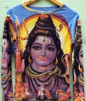 Женская футболка с изображением Шивы, можно купить в Москве