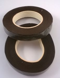Тейп-лента 12 мм, цвет коричневый (1 упаковка = 5 шт)