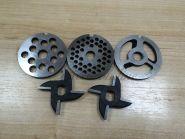 Мясорубка пром. М-75 Комплект ножей и решеток (б/бурта)
