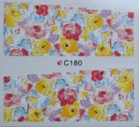Водная наклейка для дизайна ногтей С 180