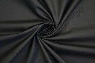 Черный Таслан 185Т PU milky отрез 0,75м ширина 135см