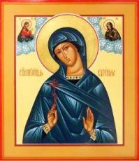 Икона Евгения Римская (рукописная)