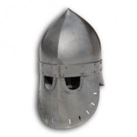 """Шлем """"Фригийский колпак"""" с забралом. Вариант №2."""