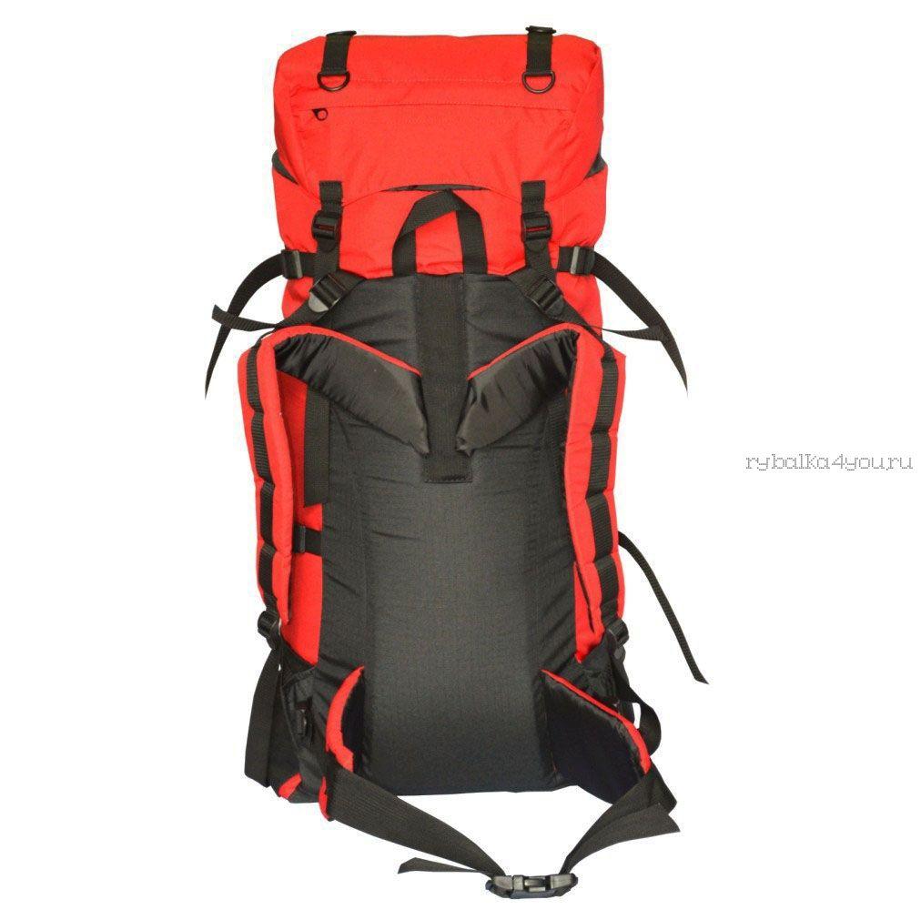 Купить Рюкзак PRIVAL Скаут 60 литров красный