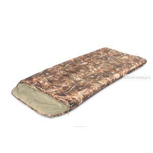 Спальный мешок Prival Степной XL КМФ Левый  /одеяло с подголовником, размер 220х95, t -7 +10C