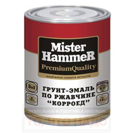 Грунт-эмаль Mister Hammer КОРРОЕД