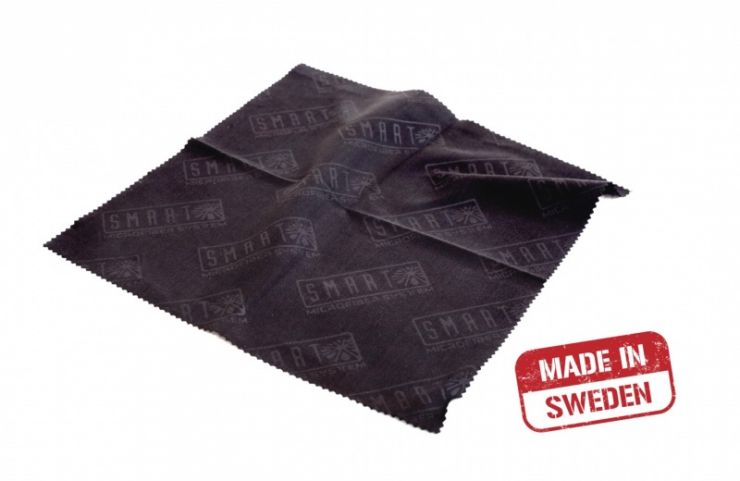 Smart Microfiber Салфетка для оптики 20х20 см черная