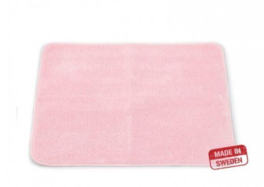 Коврик для ванной комнаты 65 х 45 см розовый