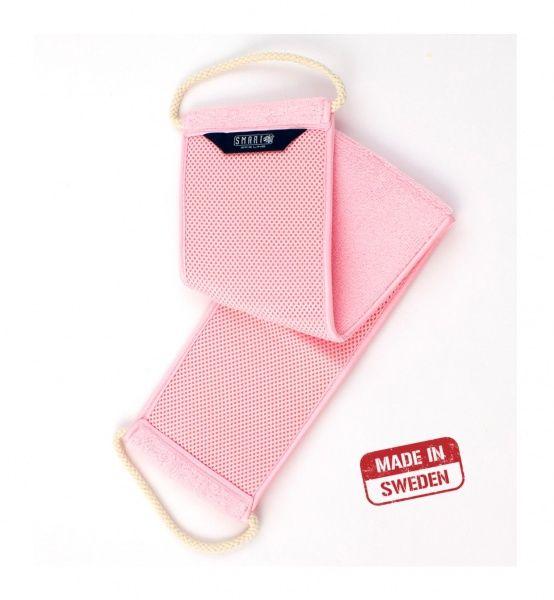 Smart Microfiber Мочалка для душа розовая