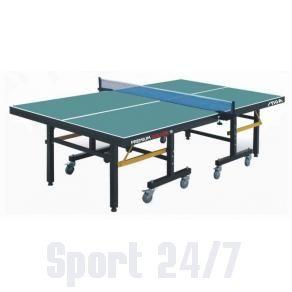 Теннисный стол профессиональный Stiga Premium Roller, ITTF (зеленый) T-235