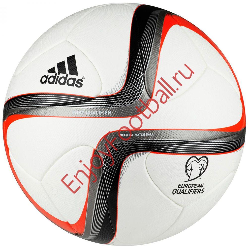 Футбольный мяч ADIDAS European Qualifiers 2016 OMB F93413 купить в ... df23b82ea0499