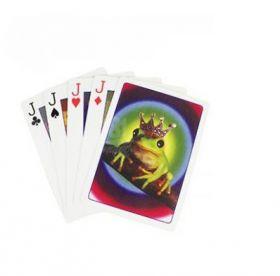 """Карточный фокус """"Из лягушки в принца"""" (Frog become Prince)"""