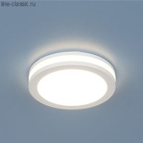 Точ/светильник ES DSKR80 5W 4200K круглый