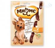 Мнямс Мини-колбаски для собак мелких пород с курицей (75 г)