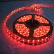 Светодиодная лента 3528 12 V 4.8 W 60 LED (диодов) на 1 м красная