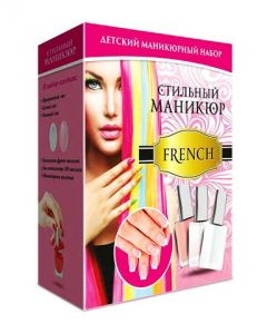 Стильный маникюр French