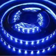 Светодиодная лента в силиконе 3528 12 V 9.6 W 120 LED (диодов) на 1 м синяя
