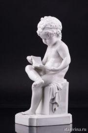Путти с книгой,  Villenauxe,Canova, Франция, кон. 19 в.