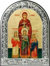 Вера, Надежда, Любовь и София (10х13)
