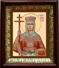 Елена, царица (19х22), темный киот