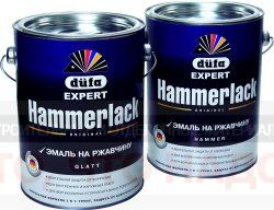 Эмаль по металлу 3в1 Dufa Hammerlack