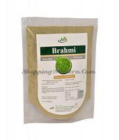 Брами (Бакопа) чурна тоник для мозга и нервной системы Джайн Аюрведик (Jain Ayurvedic Brahmi Churna)