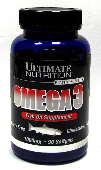 ULTIMATE NUTRITION Omega 3 18:12 90капс.