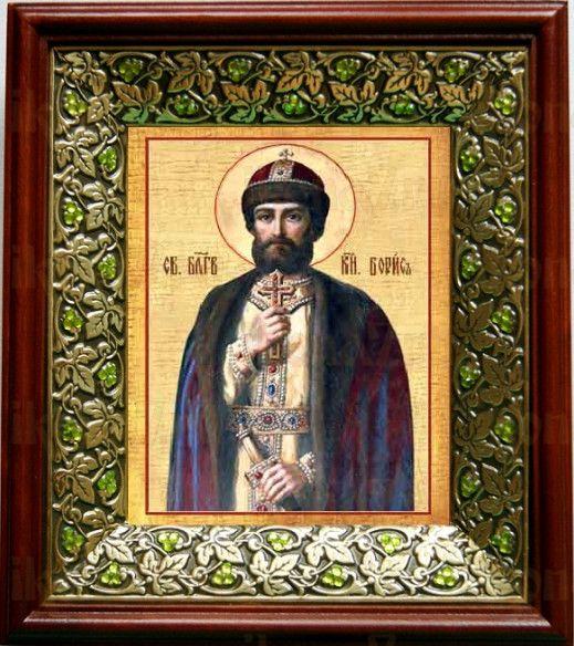 Борис, князь (21х24), киот со стразами