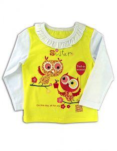 Л374 Блуза для девочки от Basia Россия