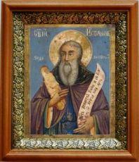 Стилиан Пафлагонский (19х22), светлый киот