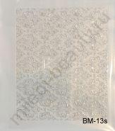 Наклейки 3D BM-13s (серебро)