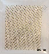 Наклейки 3D BM-18 (золото)