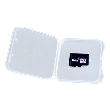 Пластиковая коробочка для карт microSD