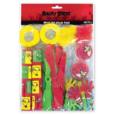 Игрушки для подарков Angry Birds, 48 шт
