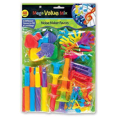 Игрушки для подарков Дуделки-Шумелки, 48