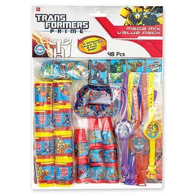 Игрушки для подарков Трансформеры, 48 шт