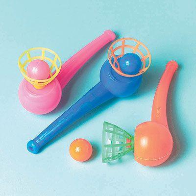 Игрушки Трубочка с шариком, 12 штук