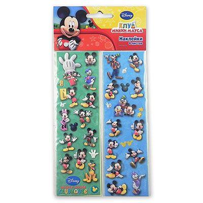 Наклейки Disney Микки Маус, 8 листов
