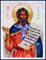Икона Илия Пророк (копия старинной)