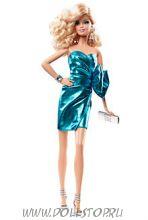 Коллекционная кукла Барби Голубое платье (Городское сияние) - City Shine Barbie Doll—  Blue Dress