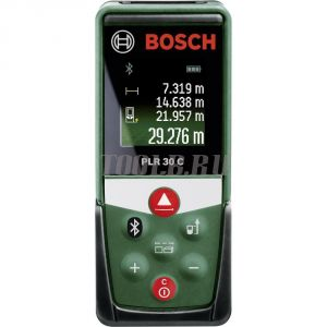 BOSCH PLR 30 C - лазерный дальномер