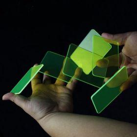 Кристалл покер  (6 шт) (карточный тренажер) цвет: зелёный