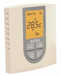 Терморегулятор AURA VTC 770 (кремовый) регулятор температуры для теплого пола электронный