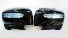 """Накладки на зеркала с LED повторителями и функцией """"приветственный свет"""", 4 цвета"""