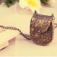 Кулон- сумочка