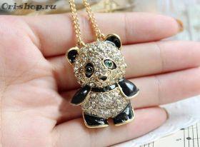Кулон Зеленоглазая панда