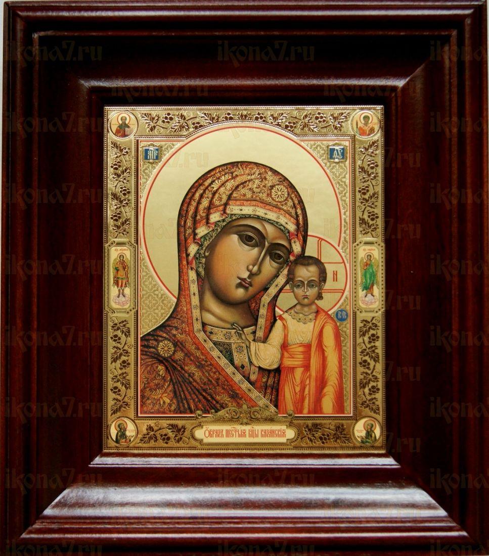 Венчальная пара 7. Казанская икона БМ (21х24)